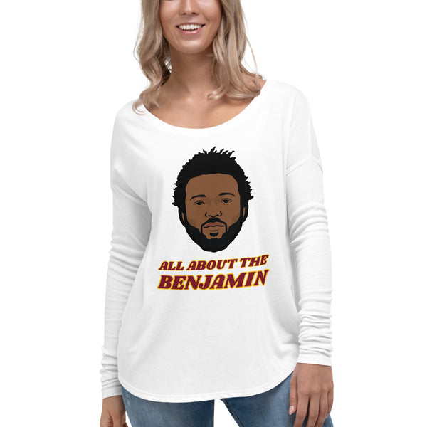 All About The Benjamin Women's Long Sleeve Tee