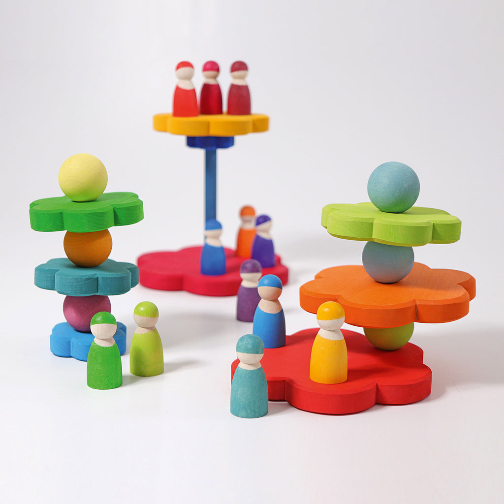Grimms Flower Stacking Tower