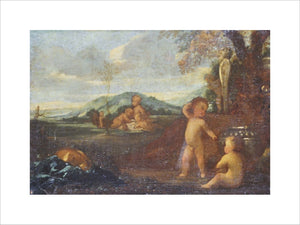 Putti in a Landscape