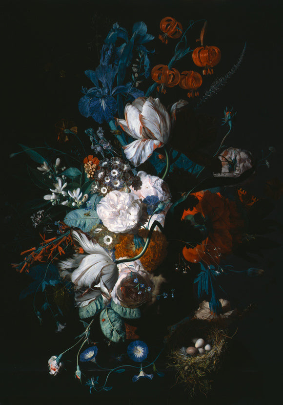 Jan van Huysum, Vase with Flowers