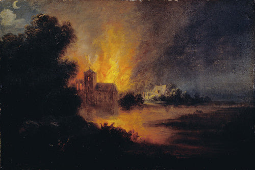 A Village on Fire