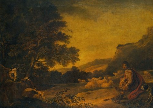 Landscape with Cattle (A Young Sheperd with his Flock)