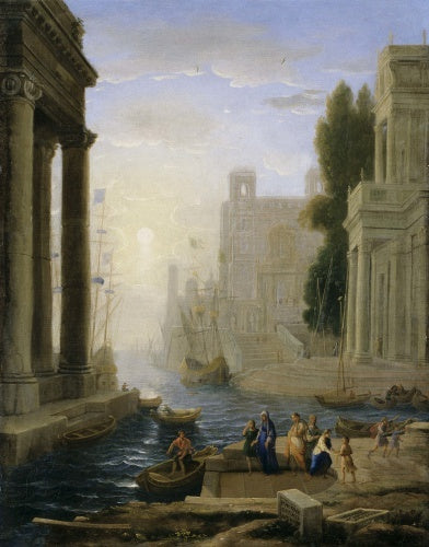 Embarkation of St Paula