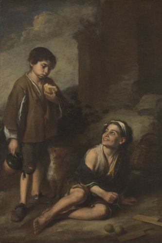 Two Peasant Boys