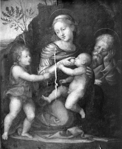 Holy Family with St John