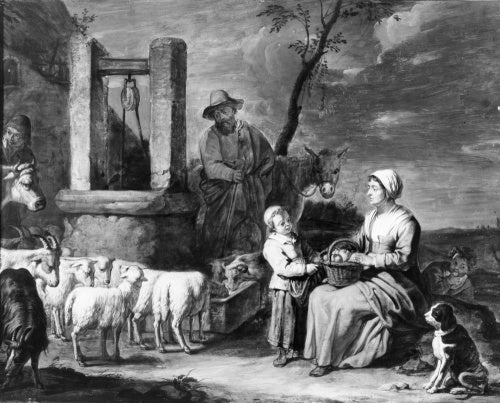 Peasant Family at a Well