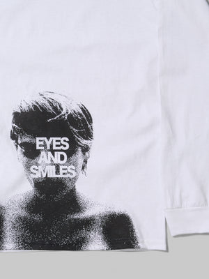 EYES AND SMILE LS TEE
