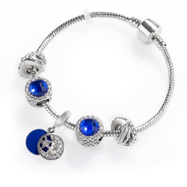New Fashion Snake Chain Link Bracelet Fit Pandora Beads Bracelet European Charm For Women Diy Jewelry Making - Beads-N-Things