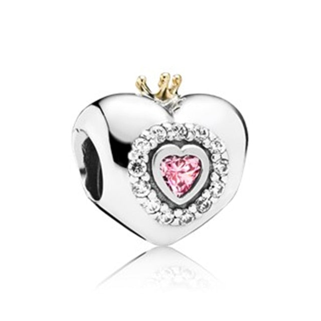 Silver Plated New Dress Mickey Unicorn Charms Beads Pendant Fit Pandora Bracelets & Necklace For Women DIY Lovers Jeweley - Beads-N-Things