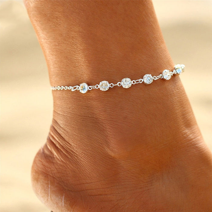 Bride Flash Charm Leg Chain