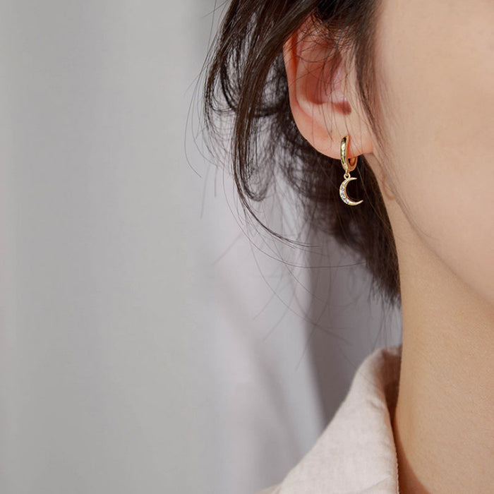 Classic Geometric Asymmetric Earrings