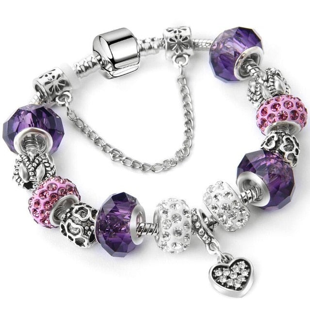 New Fashion Crystal Charms Bracelets