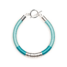 Load image into Gallery viewer, Mara Bracelet in Seafoam and Silver