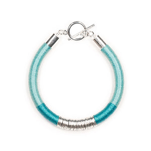 Mara Bracelet in Seafoam and Silver