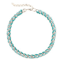 Load image into Gallery viewer, Rokel Necklace in Seafoam and Silver