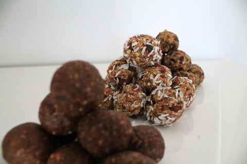 Cranberry Orange Energy Balls