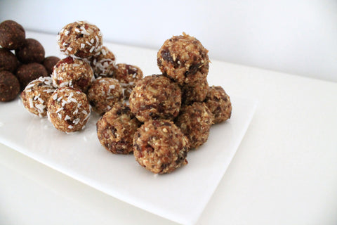 Nuss Rosinen Energy Balls