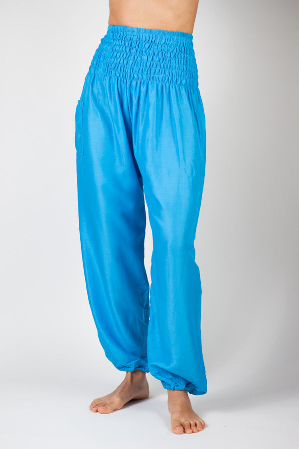 Harem Pants Light Blue