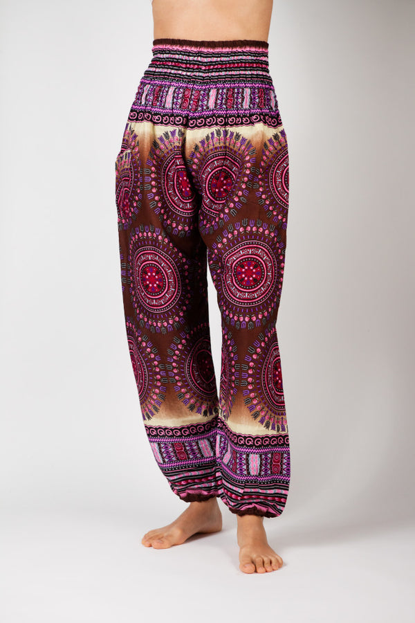 Harem Pants Radiant Lotus Eye
