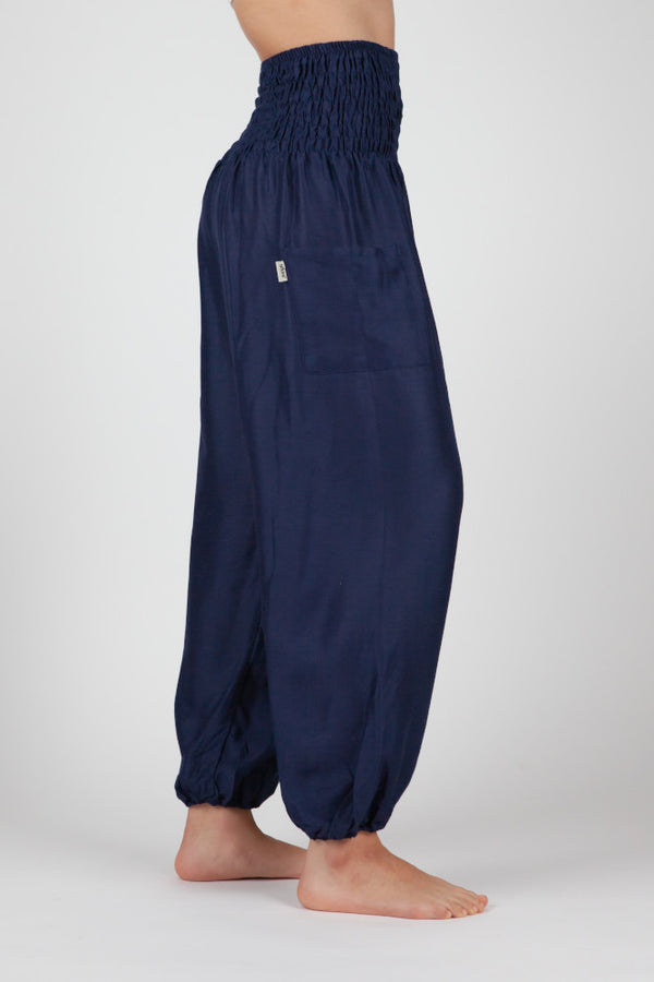 Harem Pants Blue Short Version