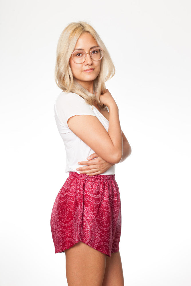 paigh - Pinke Mandala Shorts