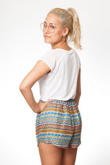 paigh - Gelbe Bambus Shorts