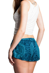 paigh - Hot Pants Türkis Mandala