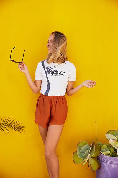 Orange Shorts - paigh