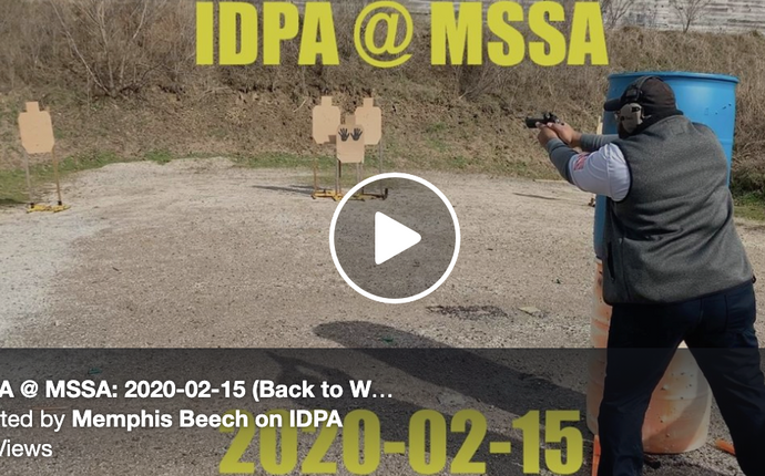 Great IDPA video from our friend Memphis Beech