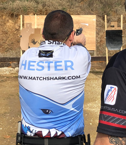 Dusty Hester Match Shark Shooter