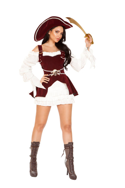 womens costume, RM4919 - 4pc Armed Pirate Women's Costume - Lavender's Dream