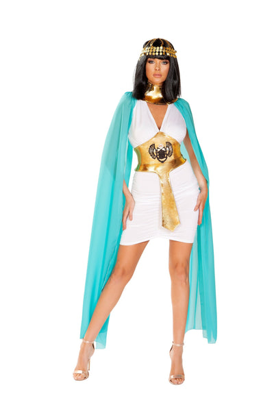 womens costume, RM4926 - 3pc Egyptian Warrior Queen Women's Costume - Lavender's Dream