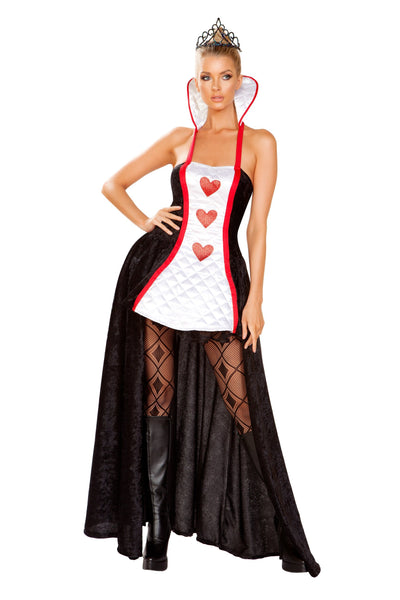 womens costume, RM4934 - 2pc Ruler of Hearts Women's Costume - Lavender's Dream