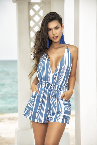 beach romper, MP5751 - Beach Romper - Lavender's Dream