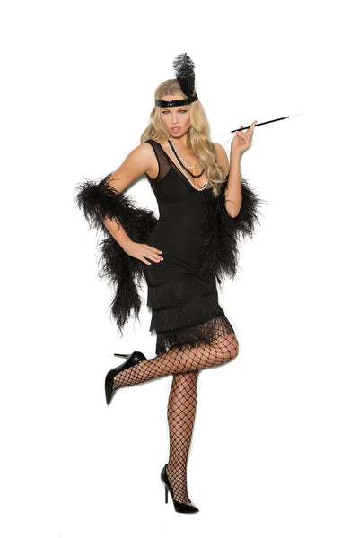 EM99051 - 2 pc. Sexy Flapper's Costume for Women - Lavender's Dream
