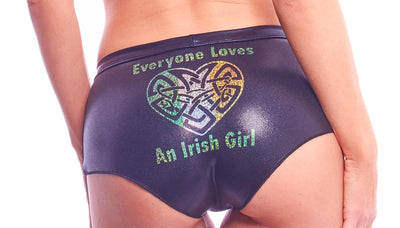 shorts, IR028 - Irish Girl Shorts - Lavender's Dream