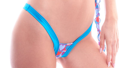 thong, Body Zone's Love Collection's Heart Back Thong - Lavender's Dream