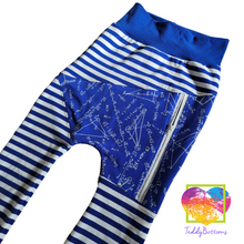 Load image into Gallery viewer, Math Zip Up Pocket Joggers 4/5