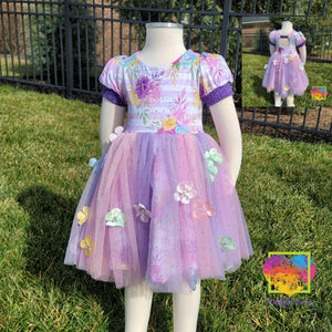 Floral Tulle Skirt 2T