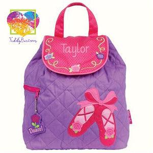 Quilted Backpack Ballet Shoes