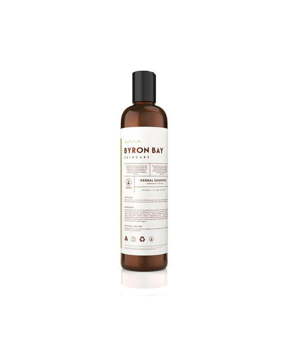 Herbal Shampoo with Peppermint and Tea Tree 375mL