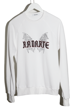 Jess Rotter For Radarte White Sweatshirt