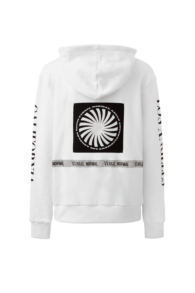 Radarte x Virgil Normal Large Logo Hoodie