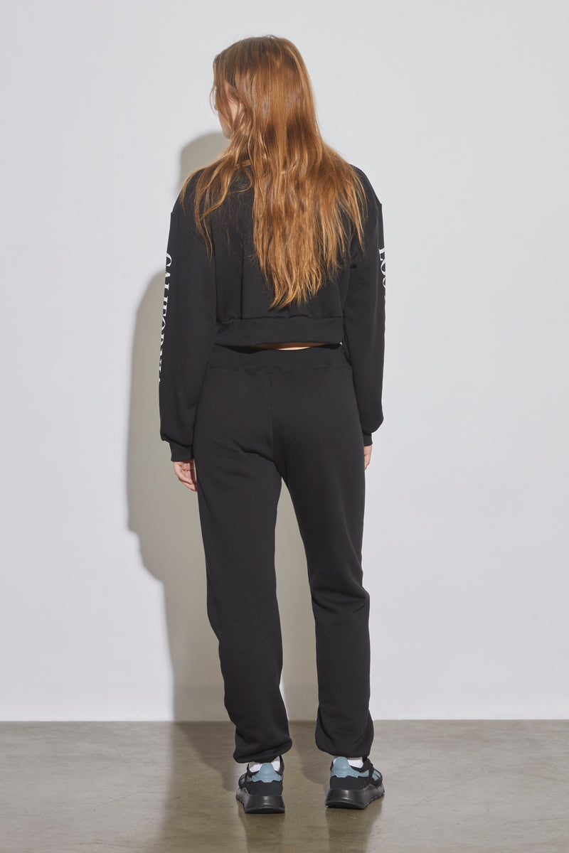 Radarte Cropped Sweatshirt