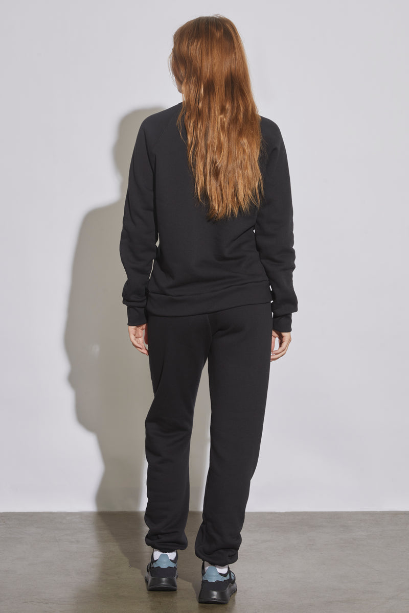 Jess Rotter For Radarte Black and Red Sweatshirt