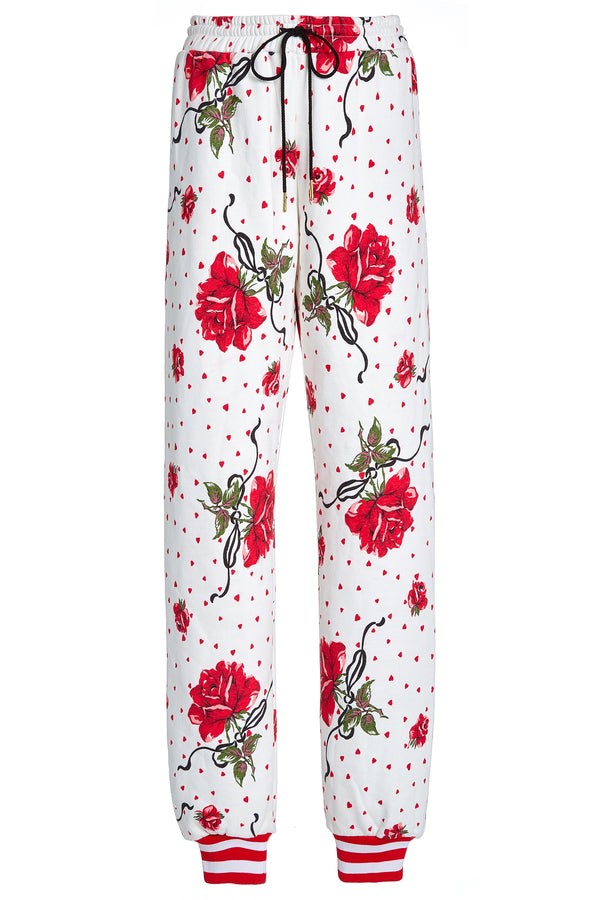 Rose Printed Sweatpant