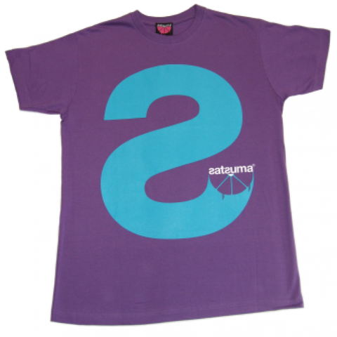 Satsuma 'Big S' T-Shirt - Purple