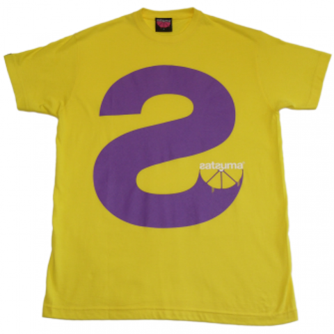 Satsuma 'Big S' T-Shirt - Yellow