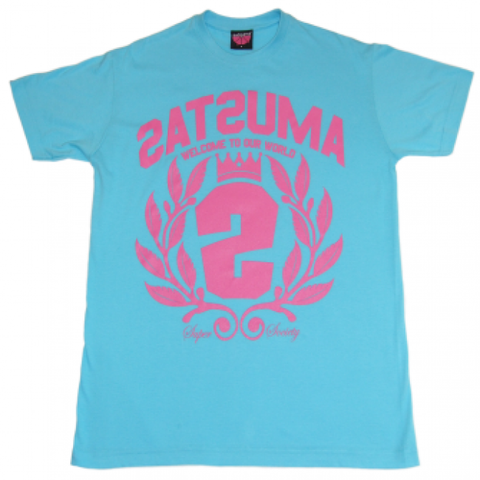 Satsuma 'Crest Two' T-Shirt - Blue