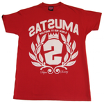 Satsuma 'Crest Two' T-Shirt - Red
